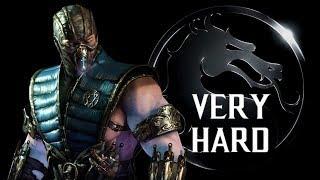 Mortal Kombat X - Sub-Zero (Cryomancer) Klassic Tower (VERY HARD) NO MATCHES LOST