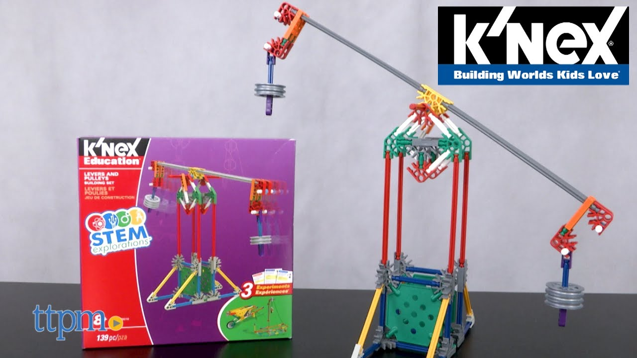 KNEX Education Levers and Pulleys Building Set from K'NEX ...