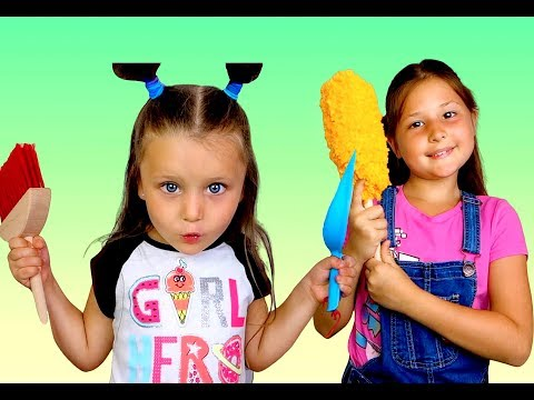 Clean up the room with Cleaning Toys| Pretend Play