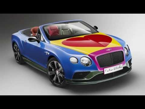Bentley Continental GT by Sir Peter Blake