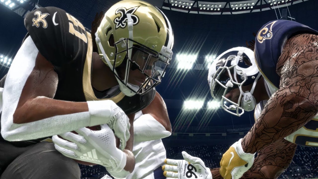 best service 18a84 af1d2 ALVIN KAMARA ARM TAPE & NEW ACCESSORIES IN UPDATE! Madden 19 Career Mode  Gameplay Ep. 8