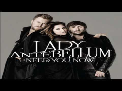 01 Need You Now - Lady Antebellum