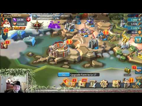 Lords Mobile - How To Wage War & How I Wage War
