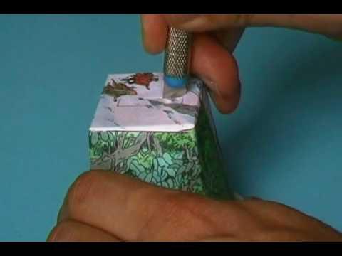 cr er une tirelire tintin avec un emballage de fromage de ch vre youtube. Black Bedroom Furniture Sets. Home Design Ideas