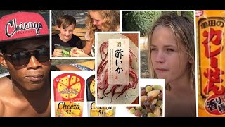 ドイツに住む子供達が日本のお菓子を食べてみたforeigners try Japanese candy