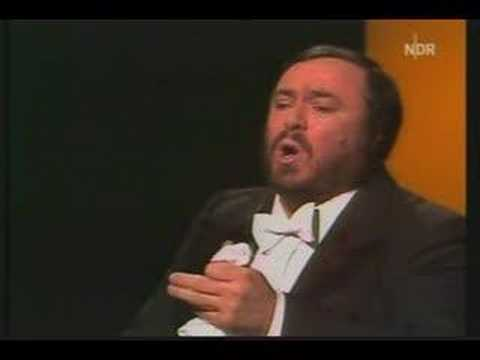 Luciano Pavarotti sings Ideale by Tosti - 1978