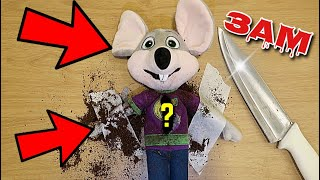 DO NOT CUT OPEN HAUNTED CHUCK E CHEESE DOLL AT 3AM!! *OMG WHAT'S INSIDE THE CHUCK E CHEESE*