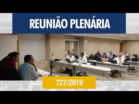 727ª Reunião Plenária (Extraordinária) - Crea-AL