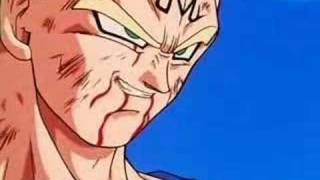 Majin Vegeta Vs Goku (Three 6 Mafia - Its a Fight)
