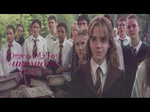 » but I hate you I really hate you ♥ draco malfoy ♕ crack #3 +hermione ♥
