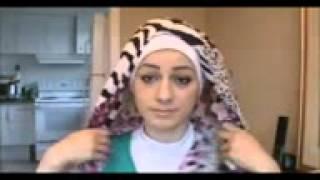 Hijab Tutorial Paris Segi empat | Hijab Manis Gaya Terupdate 2014 |