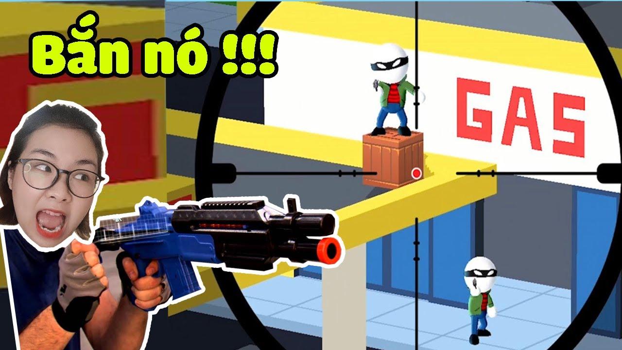 Ốc trở thành người bắn tỉa tiêu diệt bọn cướp - JT Sniper