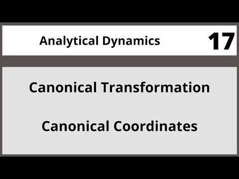 Analytical Dynamics in Hindi Urdu MTH382 LECTURE 17