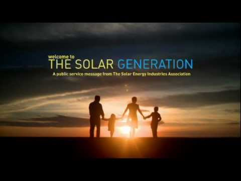 America's first national TV and web campaign for solar energy.
