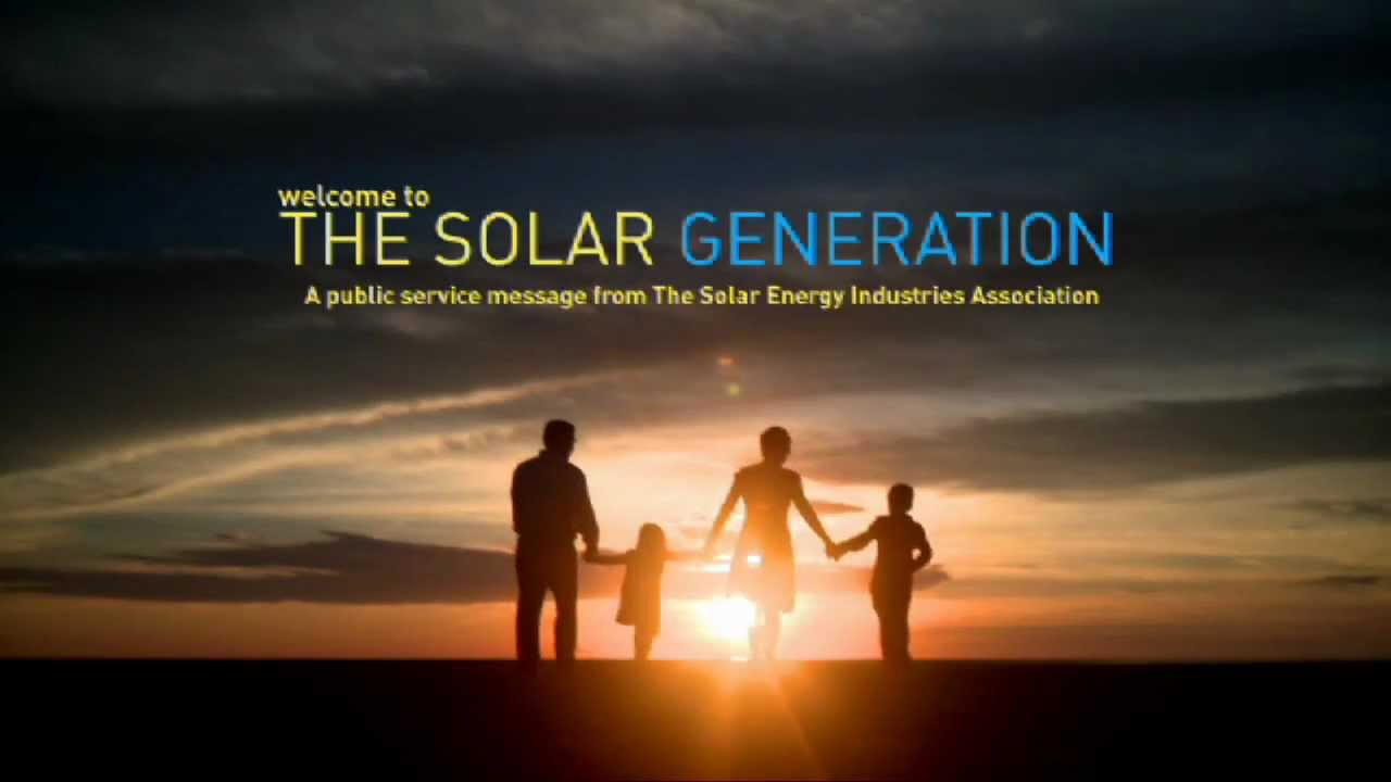 America S First National Tv And Web Campaign For Solar
