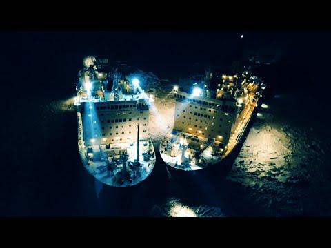Стыковка атомных ледоколов