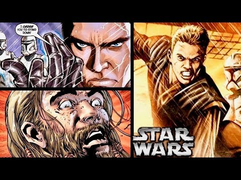 Anakin FORCE CHOKES a Republic Ally During the Clone Wars! (Legends)
