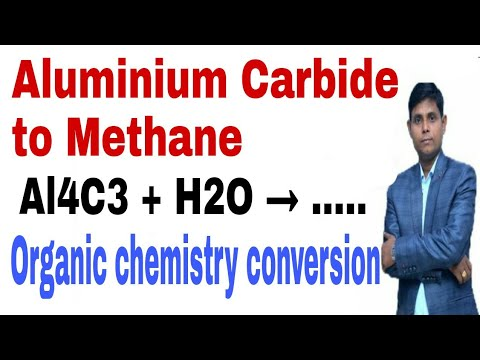Aluminium Carbide To Methane | Aluminium Carbide Se Methane| Al4C3 + H2O Reaction