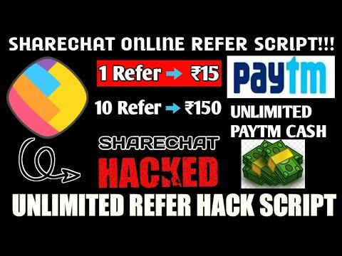 ShareChat Refer Script | ShareChat Online Refer Bypass Script |
