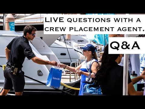 Q&A | Yacht Crew Placement Agent (She Gets You Jobs)