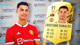 5 Footballers ANGRY at their *NEW* FIFA 22 Ratings! (Ronaldo, Mbappe & More)