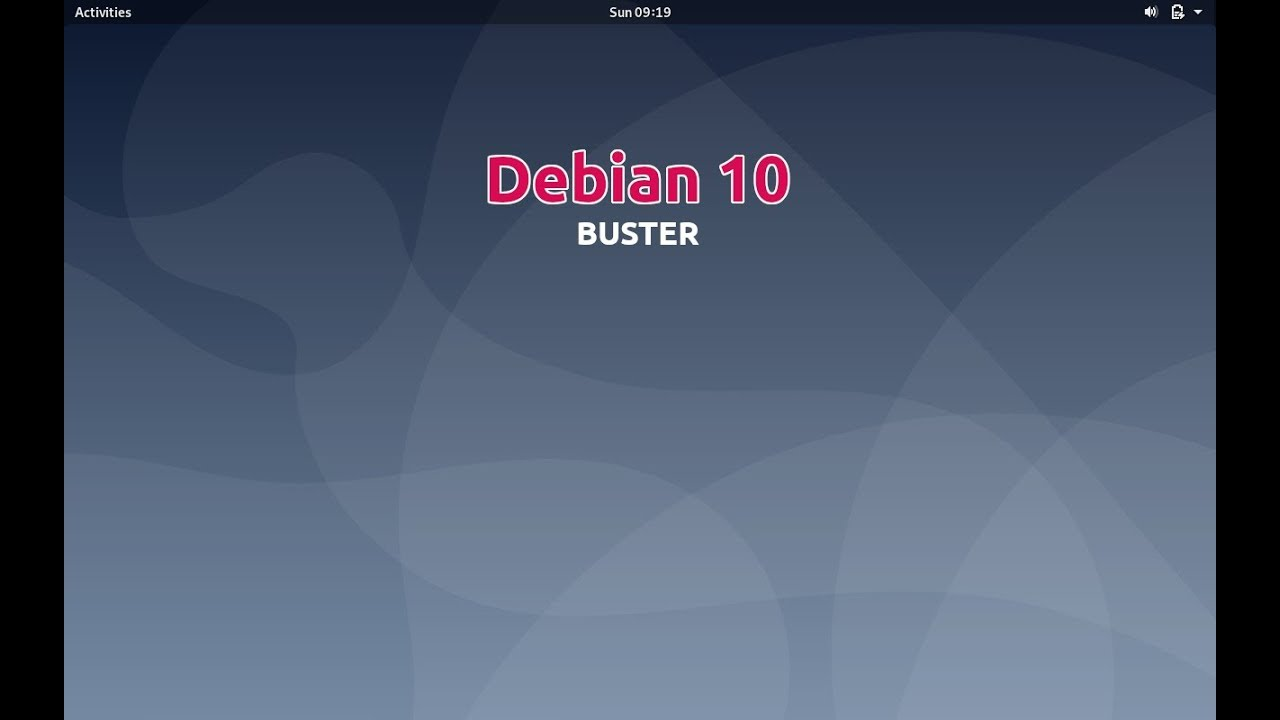 Debian 10 'buster' released, see screenshots | OpenSourceFeed