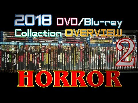 2018 DVD/Blu-ray Collection Overview 11 - Horror 2 -  Scream Factory and Synapse Films