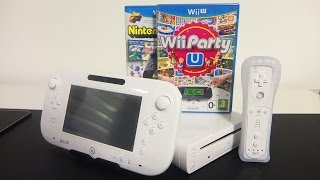 Nintendo Wii U - Wii Party U Basic Pack - Unboxing & Comparison