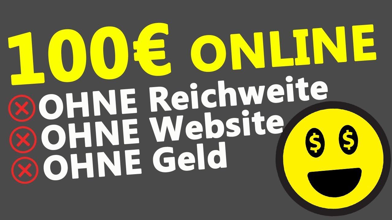100€ PRO MONAT ONLINE VERDIENEN 💰- OHNE Website, OHNE Erfahrung, OHNE Startkapital (SOFORT STARTEN)