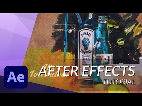 HOW TO CREATE AN INK IMAGE REVEAL IN AFTER EFFECTS