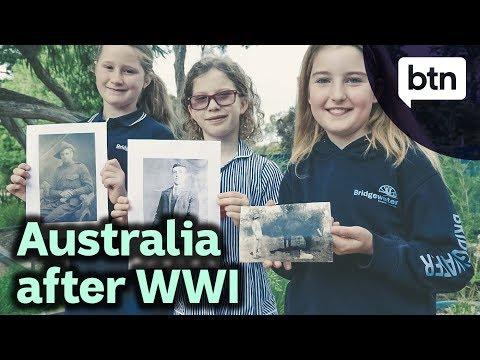 Australia after World War I - Behind the News