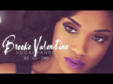 Brooke Valentine s Vocal Range B2  G6  YouTube