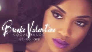 Brooke Valentine 's Vocal Range (B2 - G♯6)