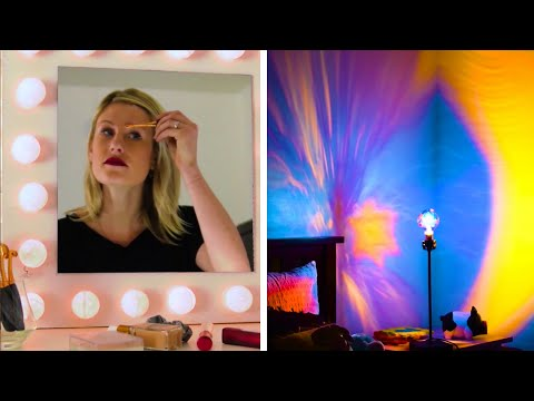 How to Make Decorative Lamps!   Easy DIY House Decor and Lights by Blossom