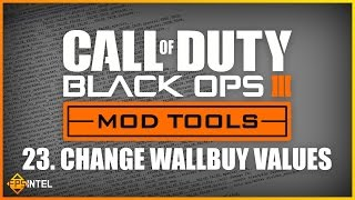 how to change wallbuy values black ops 3 mod tool tutorial