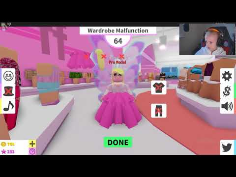 Roblox Fashion Famous Get New Dres Gameplay Youtube