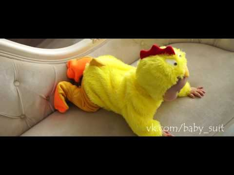 Карнавальный новогодний костюм Цыпленка (символ года 2017) для малышей и детей