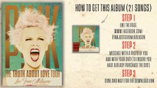 Baixar P!nk - Wicked Game (The Truth About Love Tour Live From Melbourne)