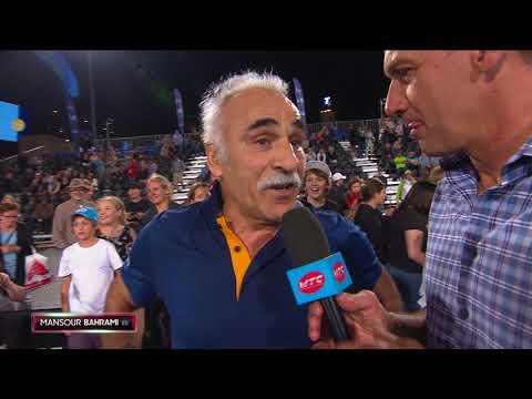 USA v International On Court Interview | World Tennis Challenge 2018