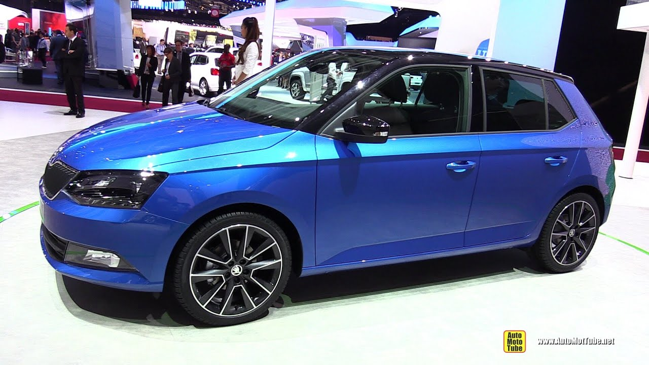 2015 skoda fabia exterior and interior walkaround debut at 2014 paris auto show youtube. Black Bedroom Furniture Sets. Home Design Ideas