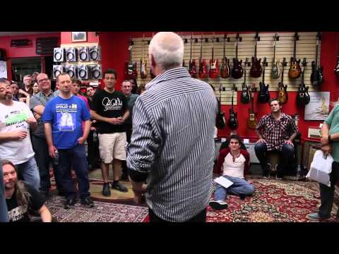 Paul Reed Smith Clinic at The Guitar Store in Seattle, WA