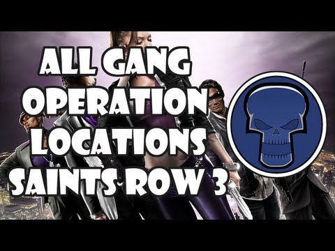 Quick Tip: All gang operation locations - Saints Row 3 ...