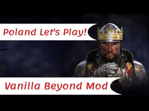 For Poland !! | Poland Let's Play #1 | Vanilla Beyond Mod | Total War Medieval II