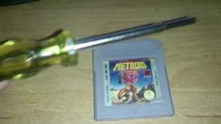 Nintendo Game Cartridge Battery leakage corrosion and removal thumbnail