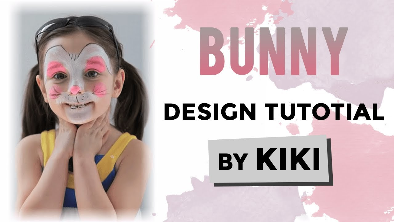 Bunny Face Paint Tutorial YouTube