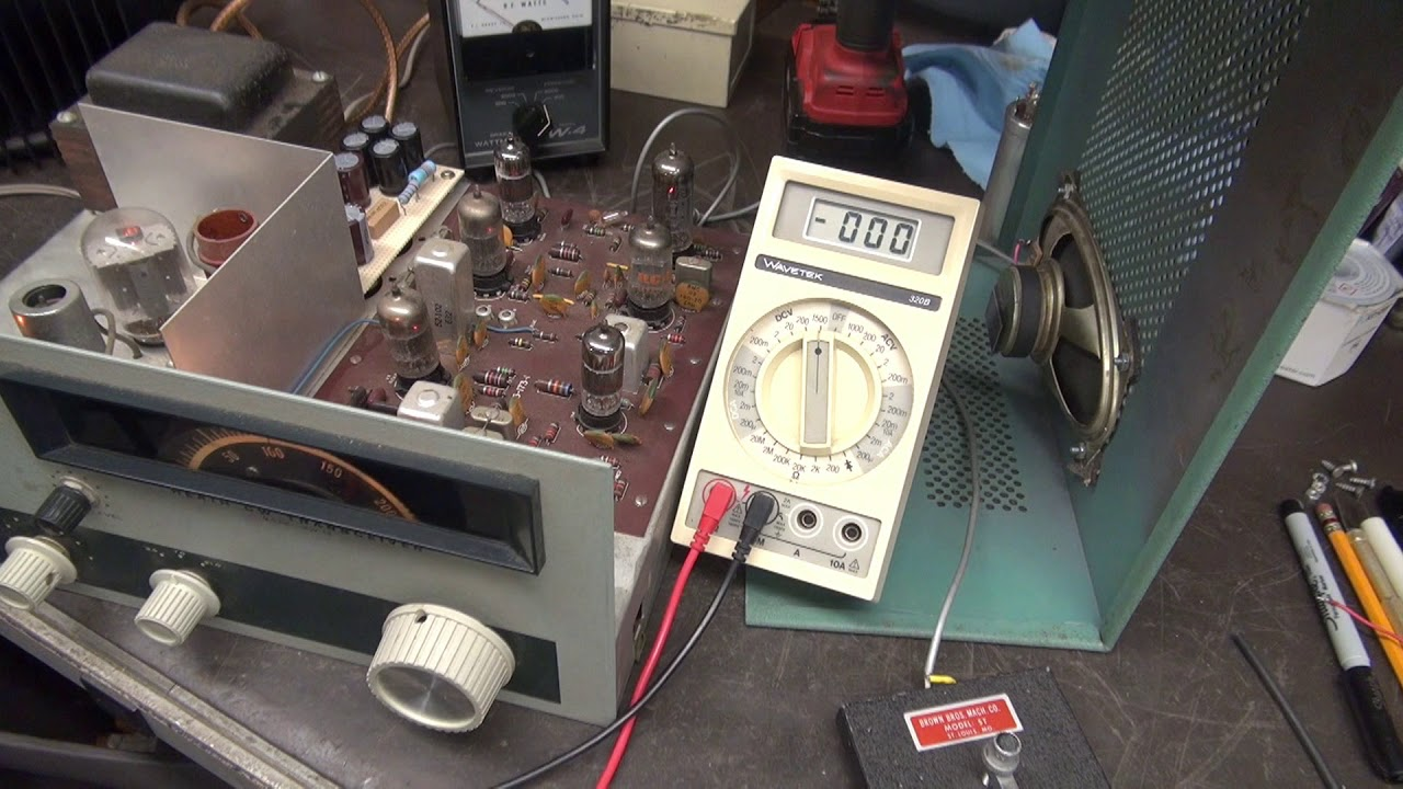 How to replace filter capacitors Heathkit HW-16 CW Tube Transceiver