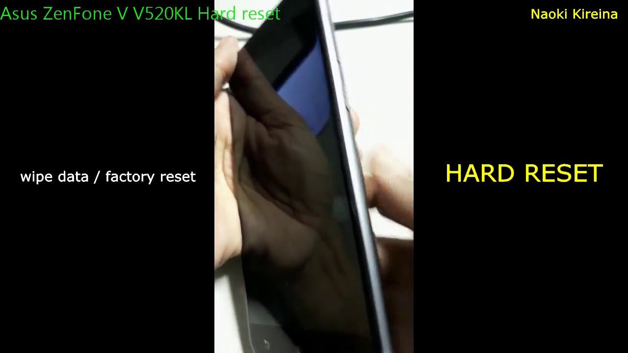 Asus Zenfone V V520KL Restore Videos - Waoweo