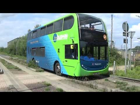 Buses Of England-St Ives + Guided Busway August 2019