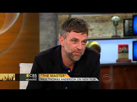 THE MASTER  Paul Thomas Anderson  with Charlie Rose 2012 CBS