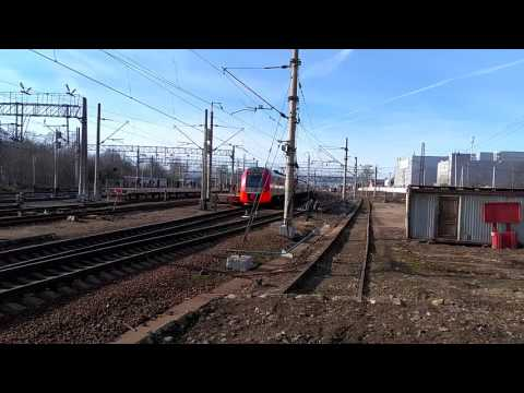 Станция Клин и много электричек